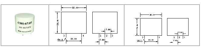 电量变送器 电流电压互感器   cs01是一款精密电流传感器,将